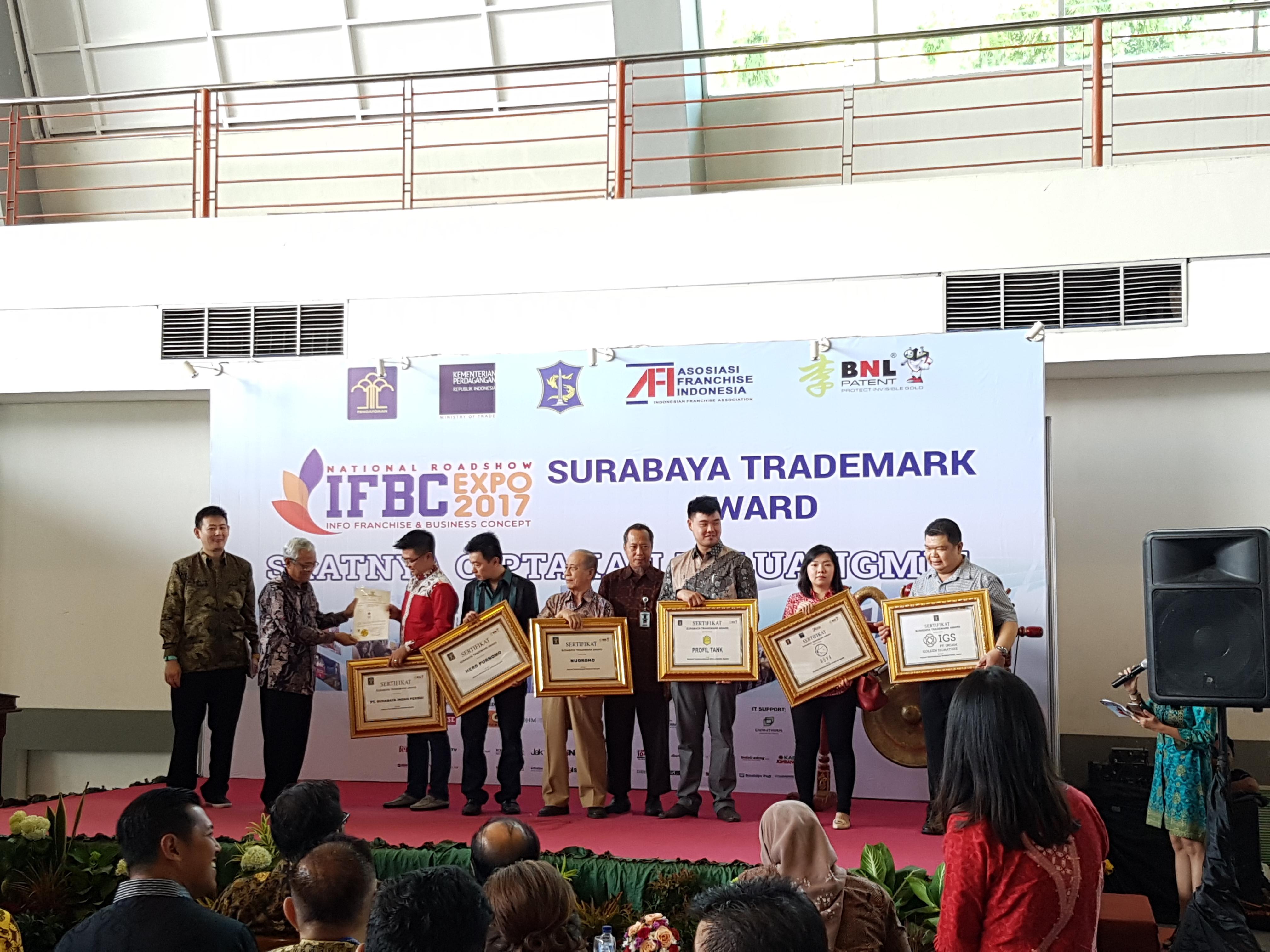 Surabaya Trademark Award