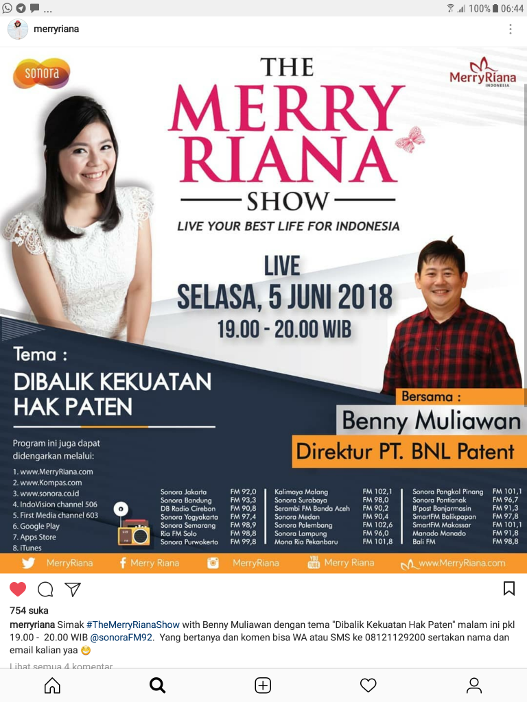 The Merry Riana Show
